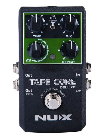 NUX tape echo pedal TAPE CORE DELUXE
