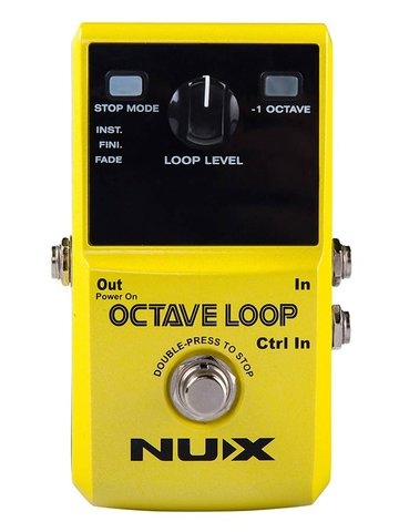 NUX loop pedal OCTAVE LOOP, with -1 octave effect