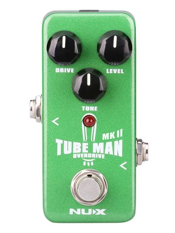NUX overdrive pedal TUBE MAN MKII OVERDRIVE