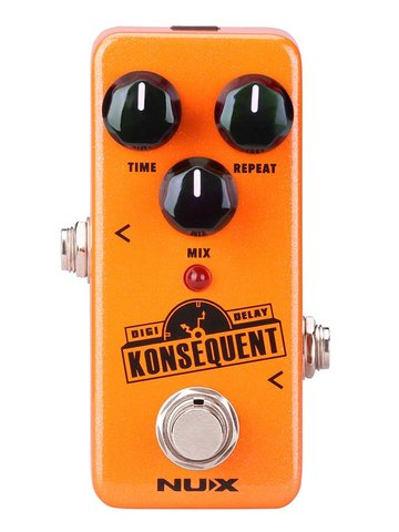 NUX digital delay pedal KONSEQUENT DELAY