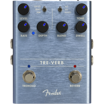 Fender Tre-Verb Digital Reverb / Tremolo