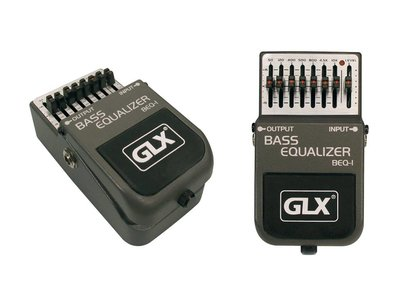 GLX bass equalizer, effectpedaal, stompbox BEQ-1