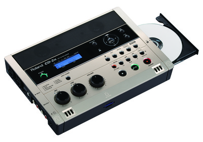 Roland CD-2u SD-CD Recorder, enhanced center cancel and speed functions