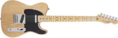 Fender American Standard Telecaster, Maple Fingerboard, Natural (Ash)