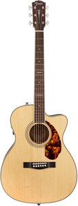 Fender Paramount PM-3 Limited Nitro Triple 0 Natural Adirondack