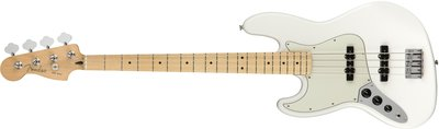Player Jazz Bass¨ Left-Handed, Maple Fingerboard, Polar White