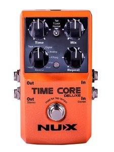 NUX delay pedal TIME CORE DELUXE
