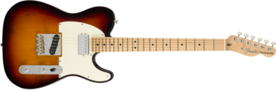 American Performer Telecaster with Humbucking, Maple Fingerboard, 3-Color Sunburst